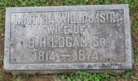 LOGAN, MARTHA - Shelby County, Kentucky   MARTHA LOGAN - Kentucky Gravestone Photos