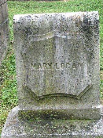 LOGAN, MARY (FOOT STONE) - Shelby County, Kentucky | MARY (FOOT STONE) LOGAN - Kentucky Gravestone Photos