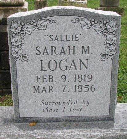 "LOGAN, SARAH ""SALLIE"" M. - Shelby County, Kentucky | SARAH ""SALLIE"" M. LOGAN - Kentucky Gravestone Photos"