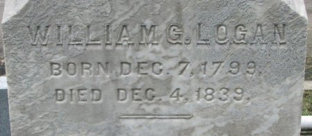 LOGAN, WILLIAM G. (CLOSE UP) - Shelby County, Kentucky | WILLIAM G. (CLOSE UP) LOGAN - Kentucky Gravestone Photos