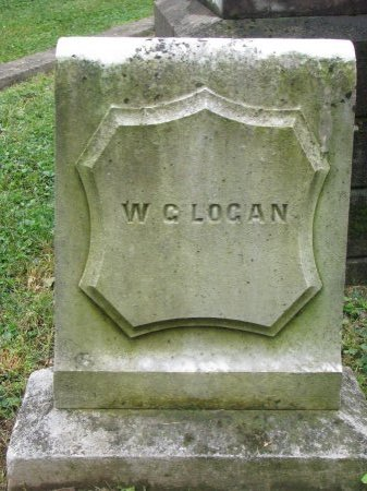 LOGAN, WILLIAM G. (FOOT STONE)  - Shelby County, Kentucky | WILLIAM G. (FOOT STONE)  LOGAN - Kentucky Gravestone Photos