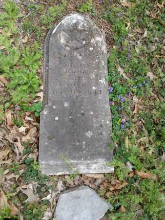 BAGBY, MARY E. - Simpson County, Kentucky | MARY E. BAGBY - Kentucky Gravestone Photos