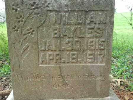 BAYLES, WILLIAM - Simpson County, Kentucky | WILLIAM BAYLES - Kentucky Gravestone Photos