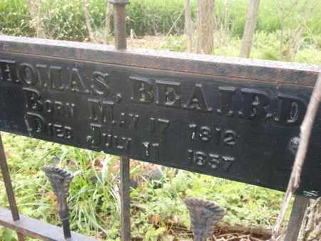 BEAIRD, THOMAS - Simpson County, Kentucky | THOMAS BEAIRD - Kentucky Gravestone Photos