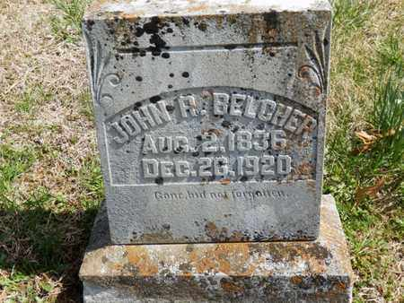 BELCHER, JOHN R. - Simpson County, Kentucky | JOHN R. BELCHER - Kentucky Gravestone Photos