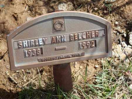 BELCHER, SHIRLEY ANN - Simpson County, Kentucky | SHIRLEY ANN BELCHER - Kentucky Gravestone Photos