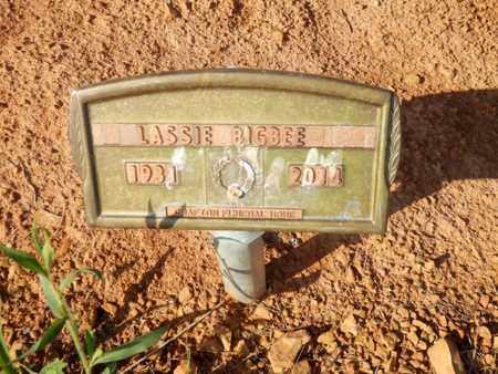 BIGBEE, LASSIE - Simpson County, Kentucky   LASSIE BIGBEE - Kentucky Gravestone Photos