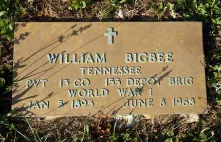 BIGBEE (VETERAN WWI), WILLIAM - Simpson County, Kentucky | WILLIAM BIGBEE (VETERAN WWI) - Kentucky Gravestone Photos