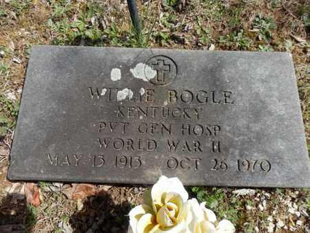 BOGLE (VETERAN WWII), WILLIE - Simpson County, Kentucky | WILLIE BOGLE (VETERAN WWII) - Kentucky Gravestone Photos