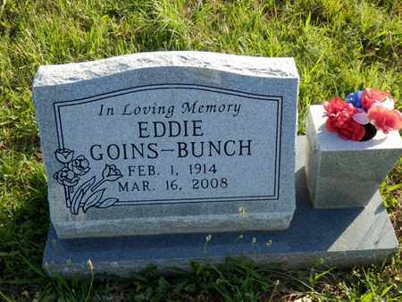 GOINS BUNCH, EDDIE - Simpson County, Kentucky | EDDIE GOINS BUNCH - Kentucky Gravestone Photos