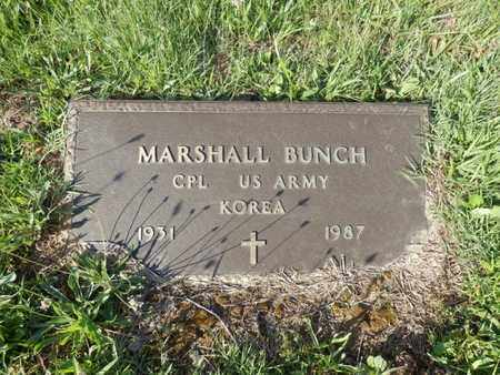 BUNCH (VETERAN KOR), MARSHALL - Simpson County, Kentucky | MARSHALL BUNCH (VETERAN KOR) - Kentucky Gravestone Photos