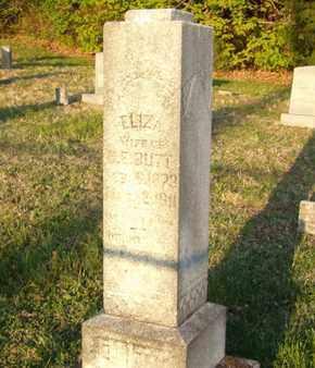 BUTT, ELIZA - Simpson County, Kentucky | ELIZA BUTT - Kentucky Gravestone Photos