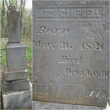 CAMPBELL, ARCH - Simpson County, Kentucky | ARCH CAMPBELL - Kentucky Gravestone Photos