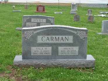CARMAN, HALA H. - Simpson County, Kentucky | HALA H. CARMAN - Kentucky Gravestone Photos