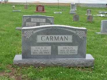 CARMEN, BRENTS - Simpson County, Kentucky | BRENTS CARMEN - Kentucky Gravestone Photos