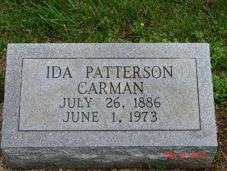 CARMAN, IDA - Simpson County, Kentucky | IDA CARMAN - Kentucky Gravestone Photos