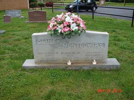 JOHNSON CLINE, MILDRED - Simpson County, Kentucky   MILDRED JOHNSON CLINE - Kentucky Gravestone Photos