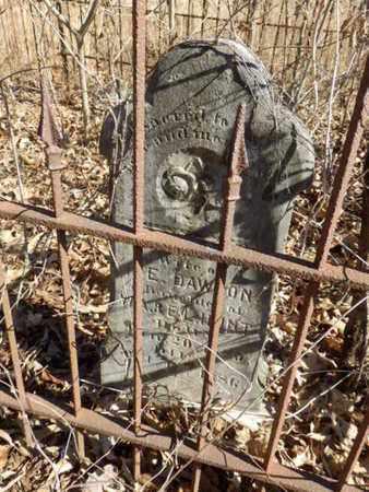 HUNT DAWSON, MOLLIE M. - Simpson County, Kentucky   MOLLIE M. HUNT DAWSON - Kentucky Gravestone Photos