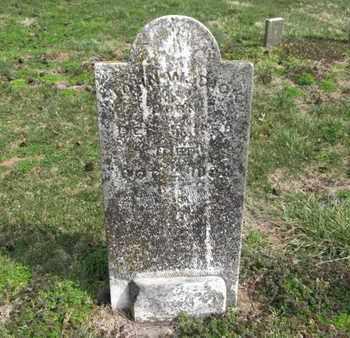 DICK, JOHN W. - Simpson County, Kentucky | JOHN W. DICK - Kentucky Gravestone Photos