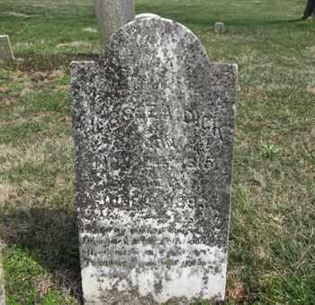 DICK, JESSEE A. - Simpson County, Kentucky | JESSEE A. DICK - Kentucky Gravestone Photos