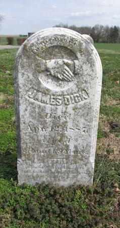 DICK, JAMES - Simpson County, Kentucky | JAMES DICK - Kentucky Gravestone Photos