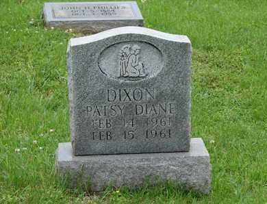DIXON, PATSY DIANE - Simpson County, Kentucky | PATSY DIANE DIXON - Kentucky Gravestone Photos