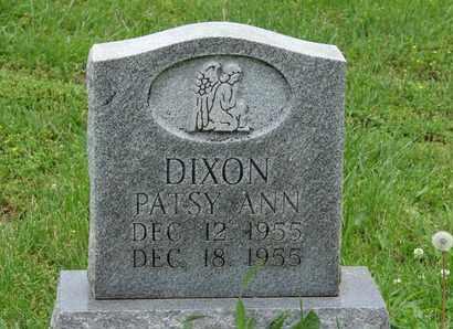 DIXON, PATSY ANN - Simpson County, Kentucky | PATSY ANN DIXON - Kentucky Gravestone Photos