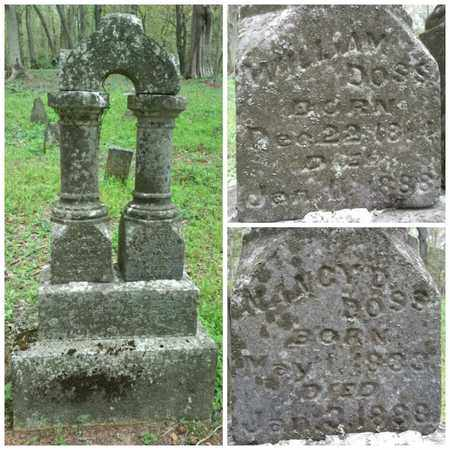 DOSS, WILLIAM - Simpson County, Kentucky | WILLIAM DOSS - Kentucky Gravestone Photos