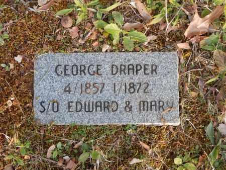 DRAPER, GEORGE - Simpson County, Kentucky | GEORGE DRAPER - Kentucky Gravestone Photos