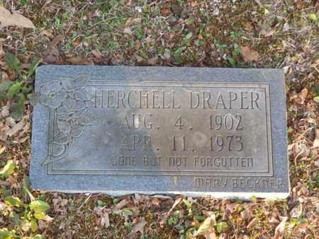 DRAPER, HERCHELL - Simpson County, Kentucky | HERCHELL DRAPER - Kentucky Gravestone Photos