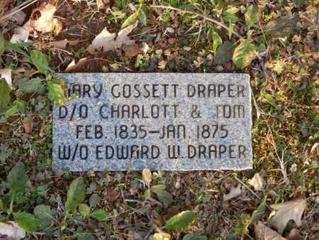 DRAPER, MARY - Simpson County, Kentucky | MARY DRAPER - Kentucky Gravestone Photos