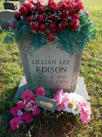 EDISON, LILLIAN LEE - Simpson County, Kentucky   LILLIAN LEE EDISON - Kentucky Gravestone Photos