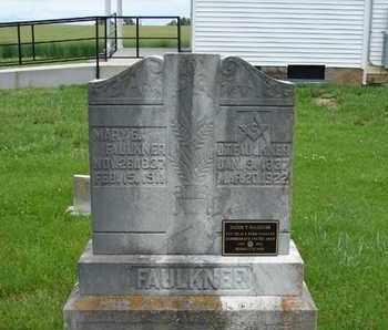 FAULKNER, MARY E. - Simpson County, Kentucky | MARY E. FAULKNER - Kentucky Gravestone Photos