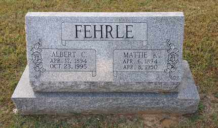 FEHRLE, MATTIE K. - Simpson County, Kentucky | MATTIE K. FEHRLE - Kentucky Gravestone Photos