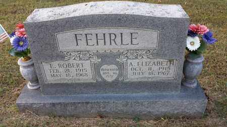 FEHRLE, A. ELIZABETH - Simpson County, Kentucky | A. ELIZABETH FEHRLE - Kentucky Gravestone Photos