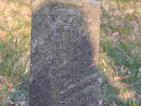 FINN, INFANT SON - Simpson County, Kentucky | INFANT SON FINN - Kentucky Gravestone Photos