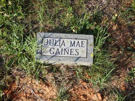GAINES, JULIA MAE - Simpson County, Kentucky   JULIA MAE GAINES - Kentucky Gravestone Photos