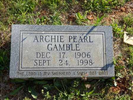 GAMBLE, ARCHIE PEARL - Simpson County, Kentucky | ARCHIE PEARL GAMBLE - Kentucky Gravestone Photos