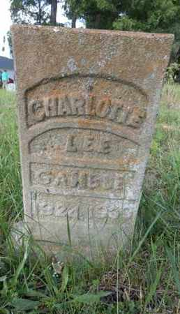 GAMBLE, CHARLOTTE LEE - Simpson County, Kentucky | CHARLOTTE LEE GAMBLE - Kentucky Gravestone Photos