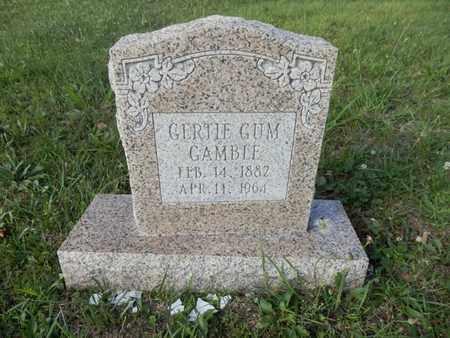 GUM GAMBLE, GERTIE - Simpson County, Kentucky | GERTIE GUM GAMBLE - Kentucky Gravestone Photos