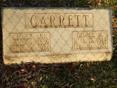 GARRETT, GEORGE ANN - Simpson County, Kentucky   GEORGE ANN GARRETT - Kentucky Gravestone Photos