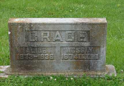 GRACE, ALICE - Simpson County, Kentucky   ALICE GRACE - Kentucky Gravestone Photos
