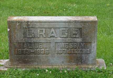 GRACE, WESSLY - Simpson County, Kentucky | WESSLY GRACE - Kentucky Gravestone Photos