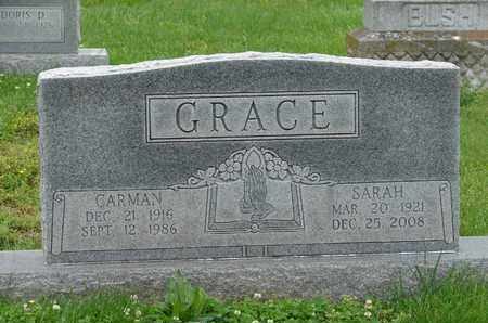 GRACE, SARAH - Simpson County, Kentucky | SARAH GRACE - Kentucky Gravestone Photos