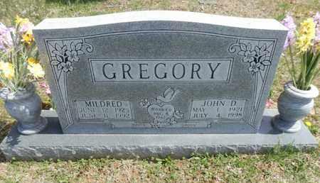 GREGORY, MILDRED - Simpson County, Kentucky | MILDRED GREGORY - Kentucky Gravestone Photos