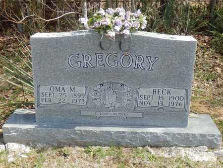 GREGORY, OMA M. - Simpson County, Kentucky | OMA M. GREGORY - Kentucky Gravestone Photos