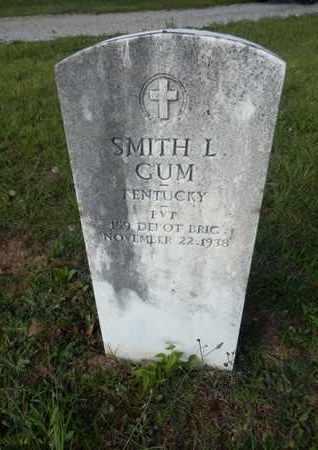 GUM (VETERAN), SMITH L. - Simpson County, Kentucky   SMITH L. GUM (VETERAN) - Kentucky Gravestone Photos