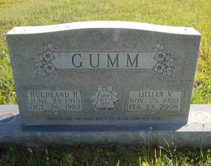 GUMM, HUGHLAND H. - Simpson County, Kentucky | HUGHLAND H. GUMM - Kentucky Gravestone Photos
