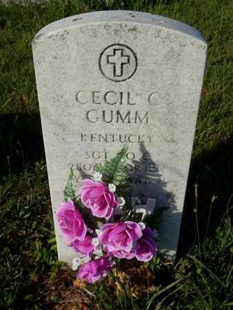 GUMM (VETERAN WWII), CECIL C. - Simpson County, Kentucky | CECIL C. GUMM (VETERAN WWII) - Kentucky Gravestone Photos