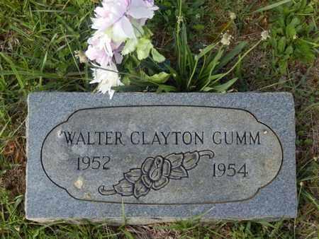 GUMM, WALTER CLAYTON - Simpson County, Kentucky   WALTER CLAYTON GUMM - Kentucky Gravestone Photos
